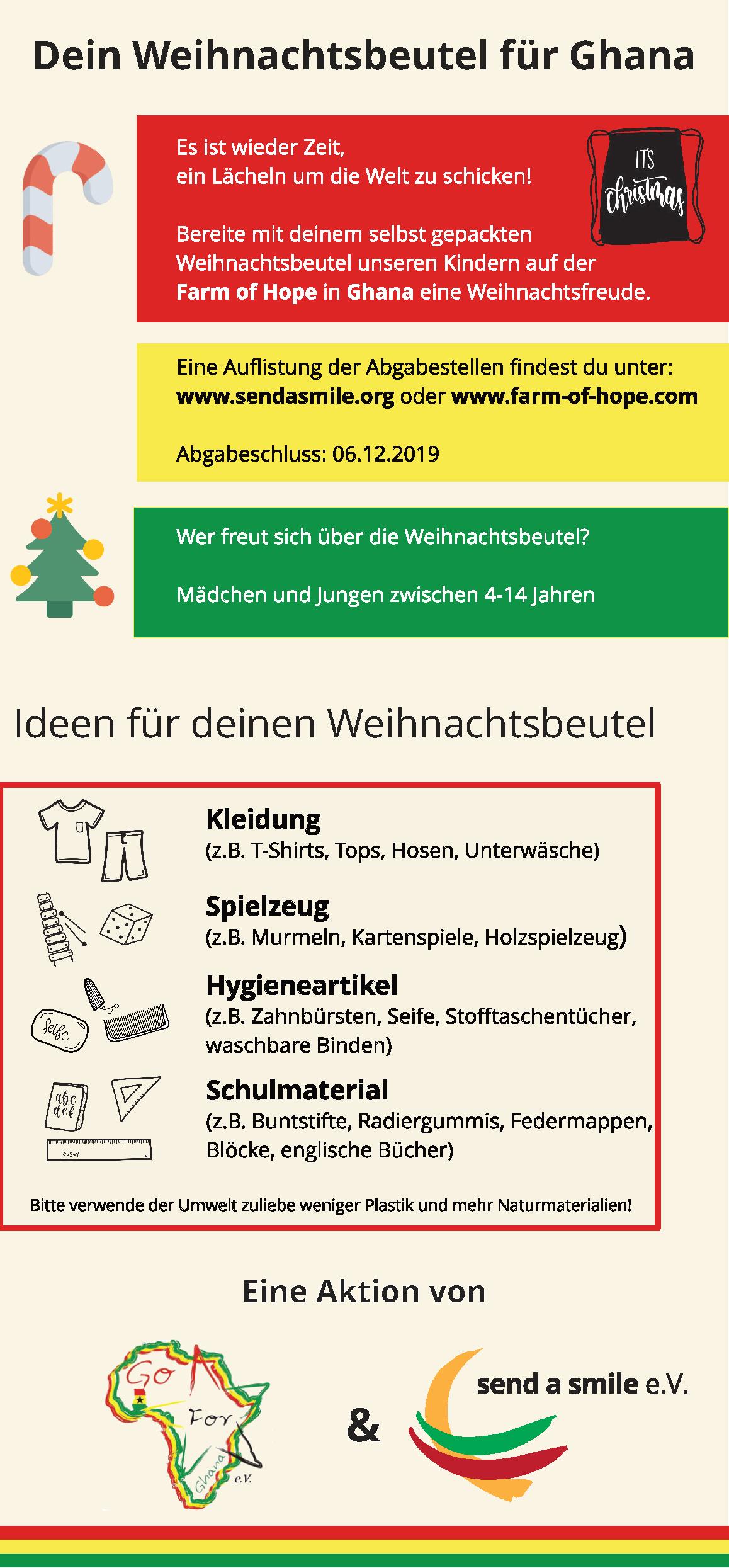Weihnachtsbeutel 2019